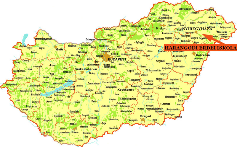 magyarország térkép nyomtatható változat Megközelíthetőség magyarország térkép nyomtatható változat
